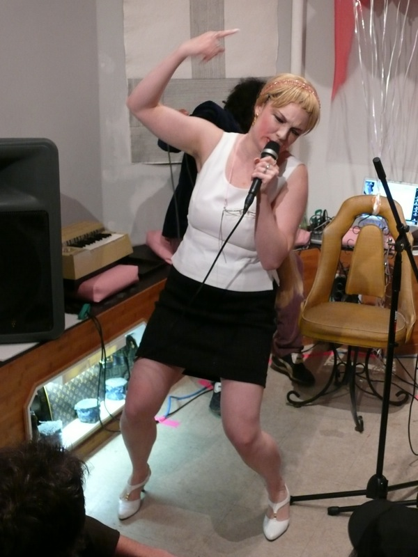 Ann Liv Young, Sherry Fundraiser performance, 2009